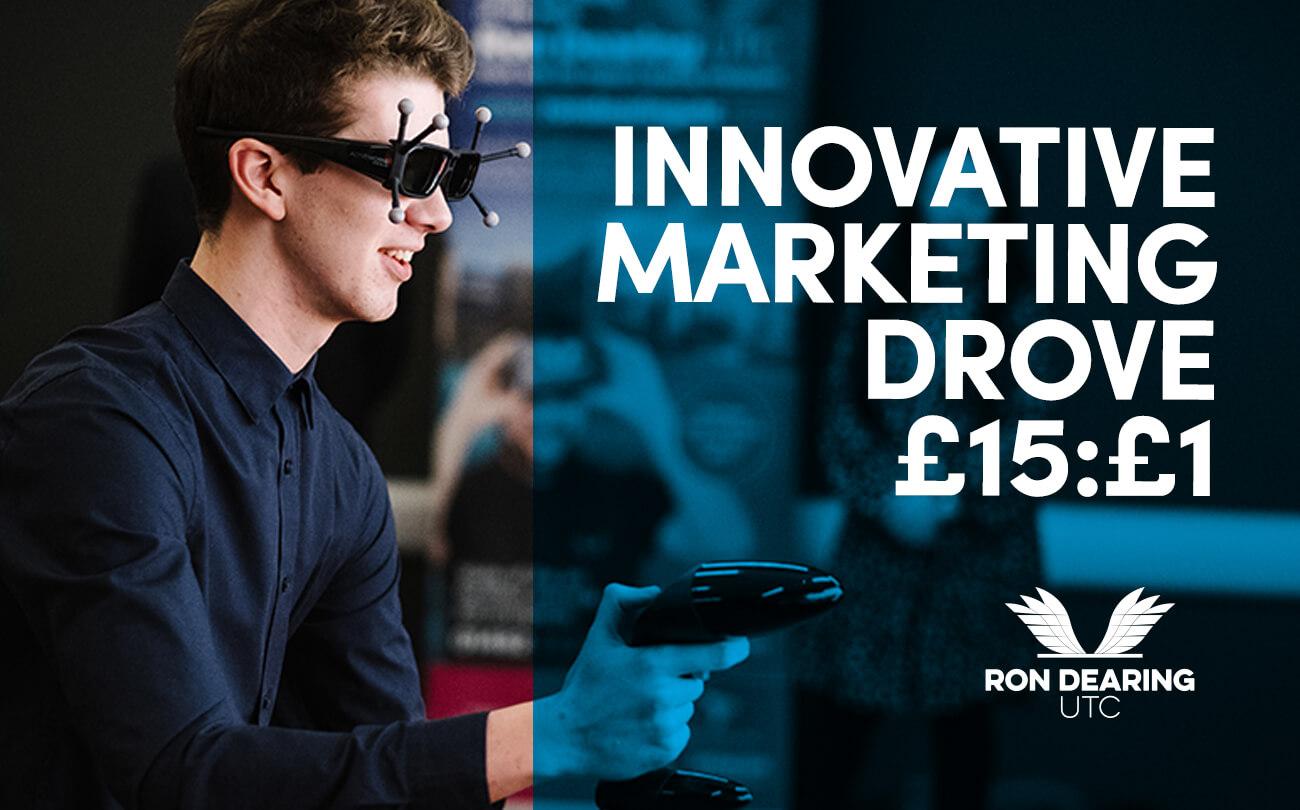 We've SMASHED our marketing targets.