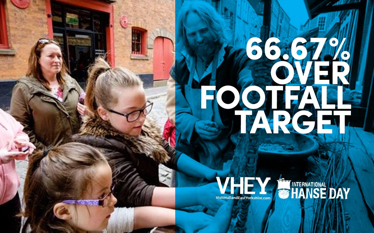 Inventive marketing attracts over 20,000 visitors
