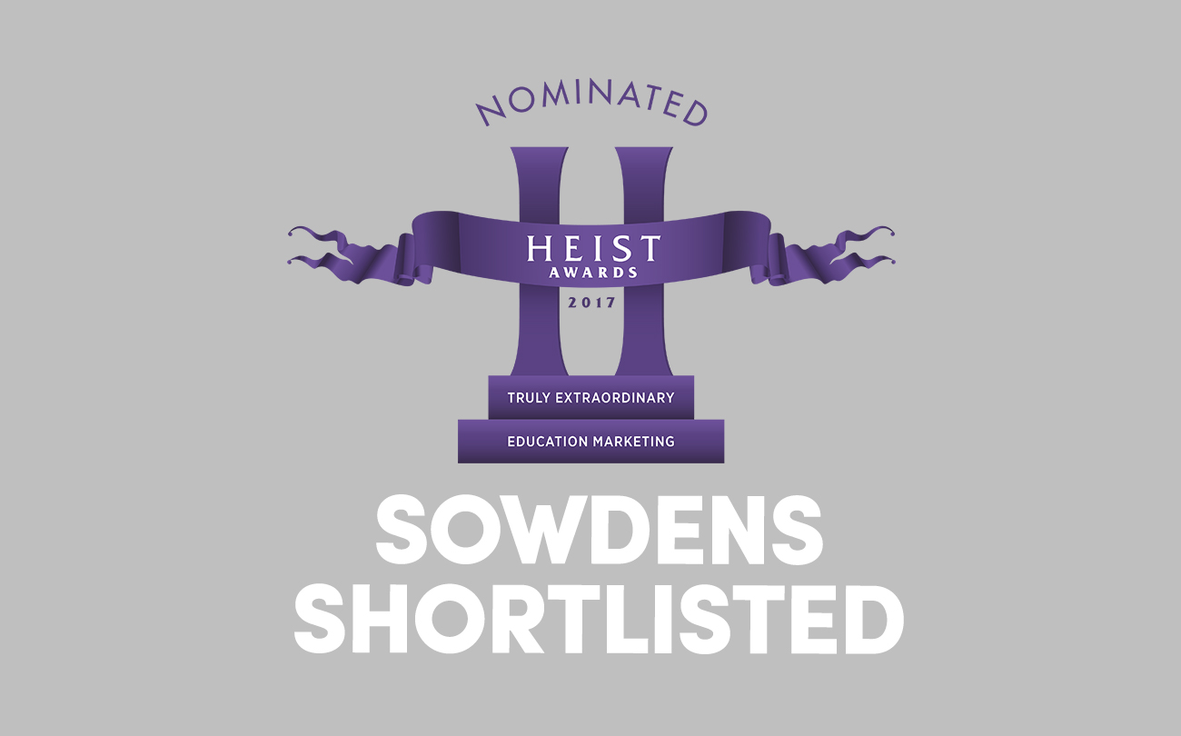 Shortlisted for a Heist Award