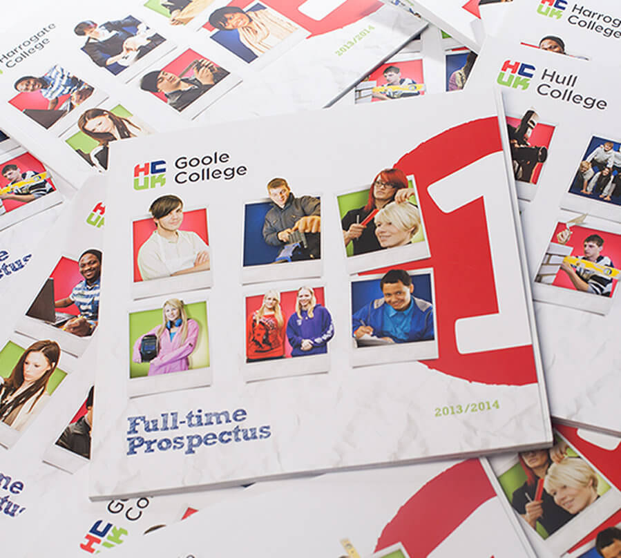 Inventive education marketing design gave prospectuses a new lease of life