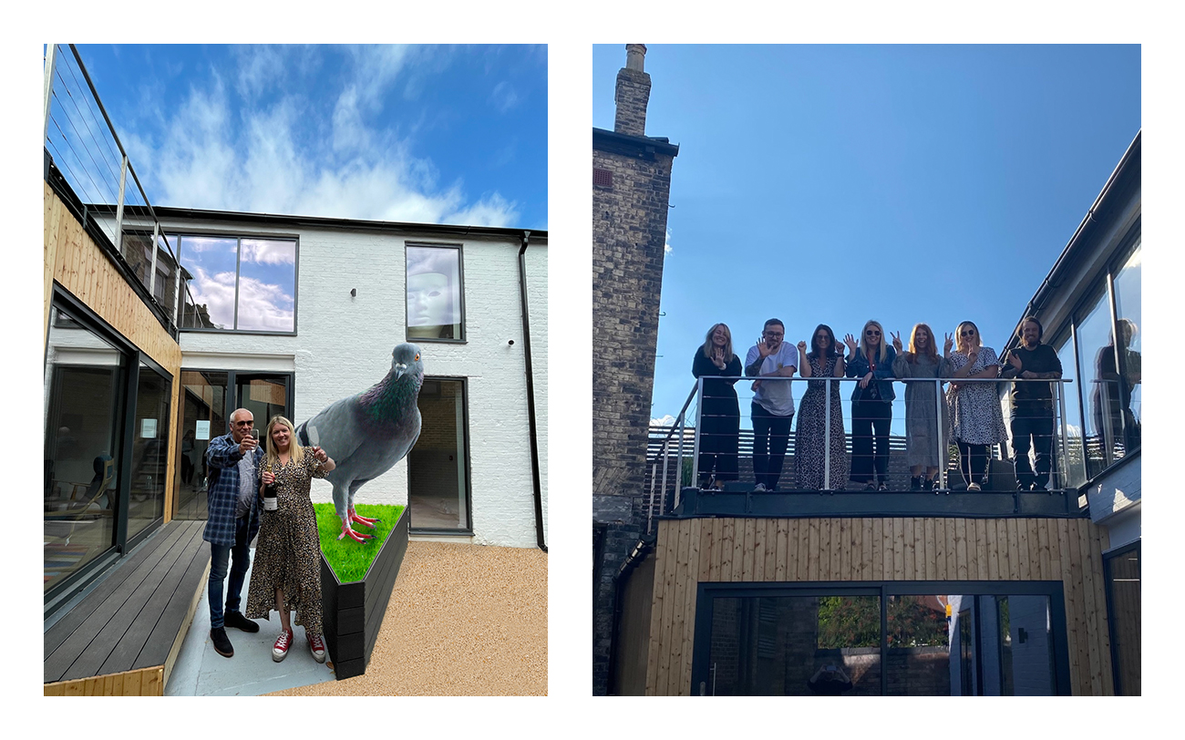 Bird on the street: Sowdens team move<br />into their new home